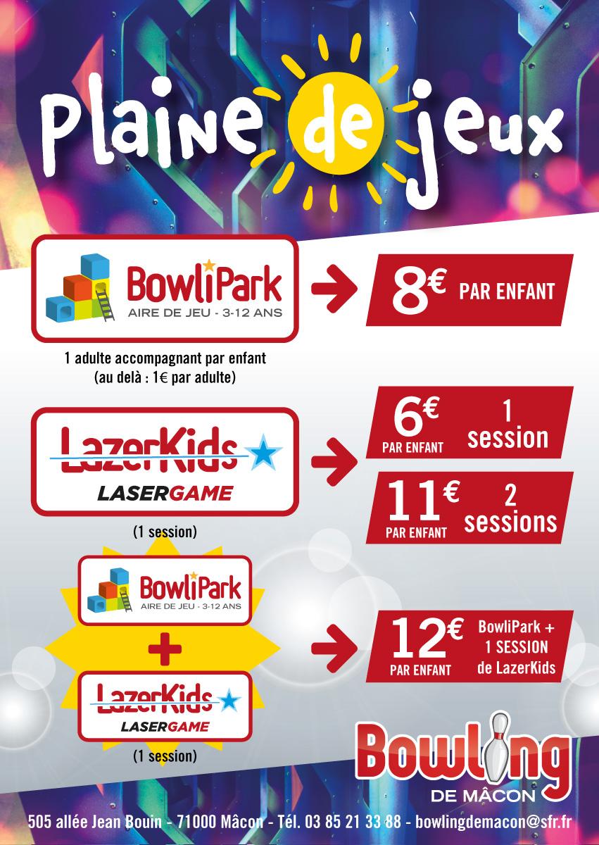 bowling-macon-Tarif-plaine-jeux