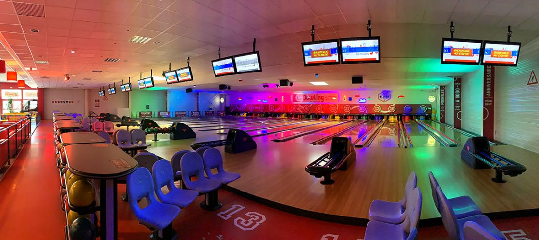 panoramique pistes bowling mâcon